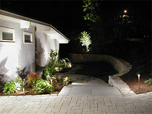 Cape Cod Landscape lighting