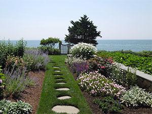 Cape Cod Landscape | walkway