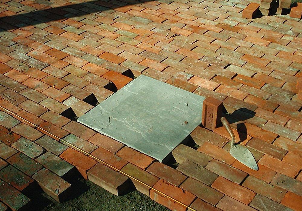 Cape Cod Brick Patio